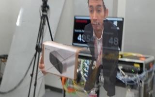 世界初、第4世代型のAzure Kinect DKと次世代通信規格5G回線を使ったHoloPortation伝送・投影に成功